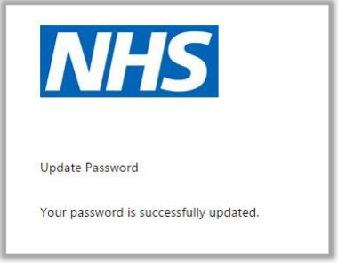 Updating password 3