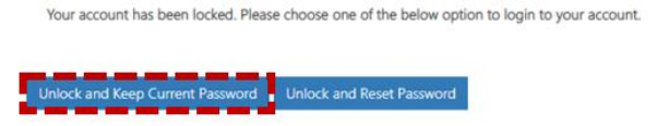 Unlock account 1
