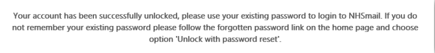Unlock Account 2